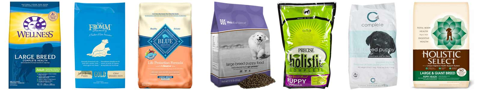 how to choose the best large breed puppy food