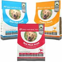 Only Natural Pet Grain Free Poultry, Red Meat & Fish Dry Dog Food